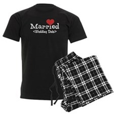 Married (Add Your Wedding Date) Pajamas