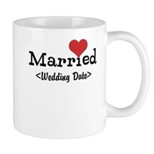 Married (Add Your Wedding Date) Mug