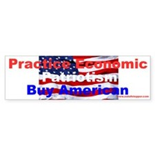 Cute Patriote Bumper Sticker