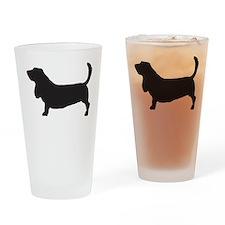 Basset Hound Drinking Glass