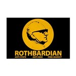 Rothbardian Mini Poster Print