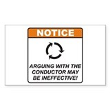 Conductor / Argue Decal