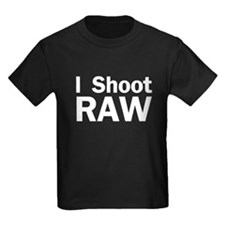 I Shoot raw Dark T
