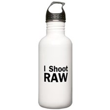 i shoot RAW Water Bottle