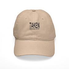 Taken (Add Your Wedding Date) Baseball Cap