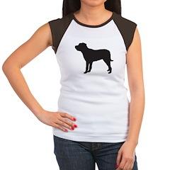 Mastiff Women's Cap Sleeve T-Shirt