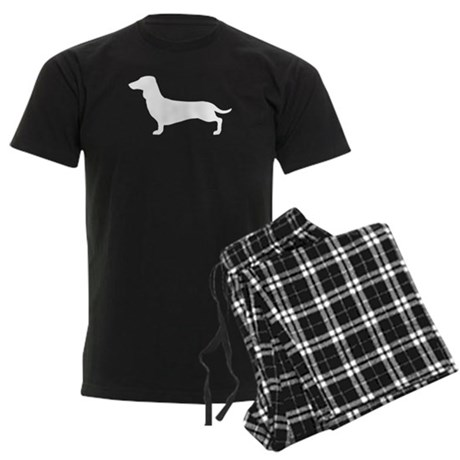 Dachshund Men's Dark Pajamas
