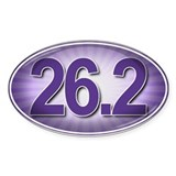 PURPLE Burst Marathon Decal