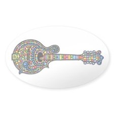 Mosaic Mandolin Decal