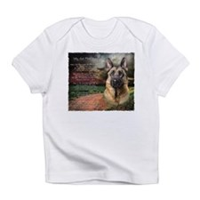 """""""Why God Made Dogs"""" GSD Infant T-Shirt"""