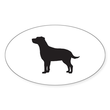 Labrador Sticker (Oval)