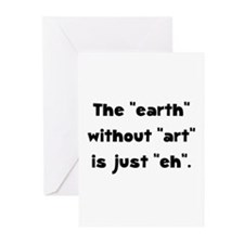 Earth Without Art Greeting Cards (Pk of 20)