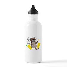 I Otter Be Scuba Diving Water Bottle