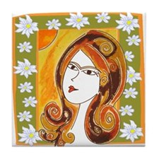 Lady Spring Tile Coaster