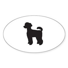 Miniature Poodle Decal