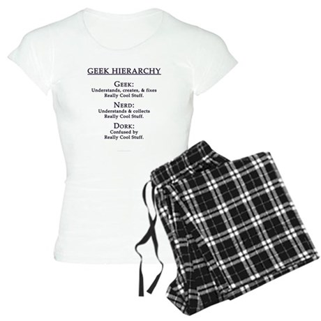 Geek Hierarchy Women's Light Pajamas