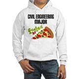 Civil Engineering Major Fueled by Pizza Jumper Hoody