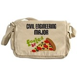 Civil Engineering Major Fueled by Pizza Messenger