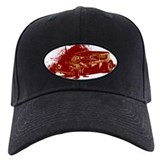 Rat Rod Red Baseball Cap