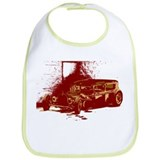 Rat Rod Red Bib