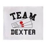 TEAM DEXTER Throw Blanket