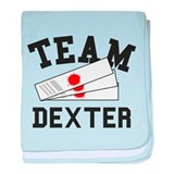 TEAM DEXTER baby blanket