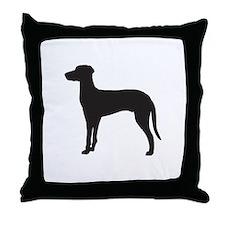 Ridgeback Throw Pillow