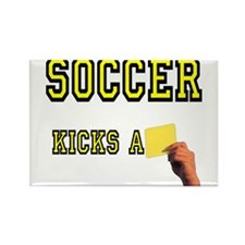 Yellow Card Rectangle Magnet (100 pack)