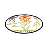 Carlie with cute flowers Patches