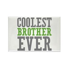 Coolest Brother Rectangle Magnet (100 pack)