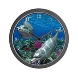 Ocean World 1 Wall Clock