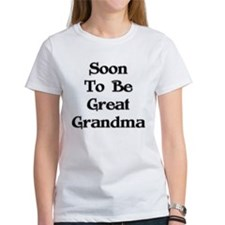 Soon To Be Great Grandma Tee
