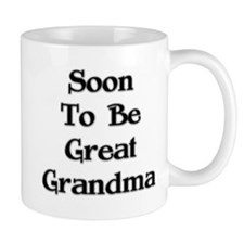 Soon To Be Great Grandma Mug