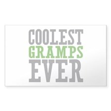 Coolest Gramps Sticker (Rectangle 10 pk)
