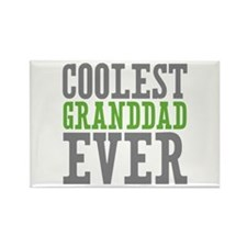 Coolest Granddad Rectangle Magnet (100 pack)