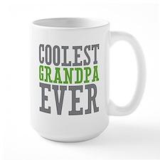Coolest Granpda Large Mug