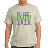 Coolest Great Papa T-Shirt