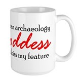 Archaeology Goddess Mug