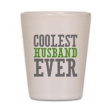 Coolest Husband Shot Glass