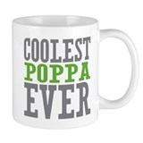 Coolest Poppa Small Mugs