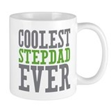 Coolest Stepdad Small Mug