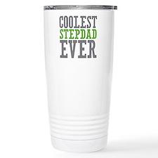 Coolest Stepdad Stainless Steel Travel Mug
