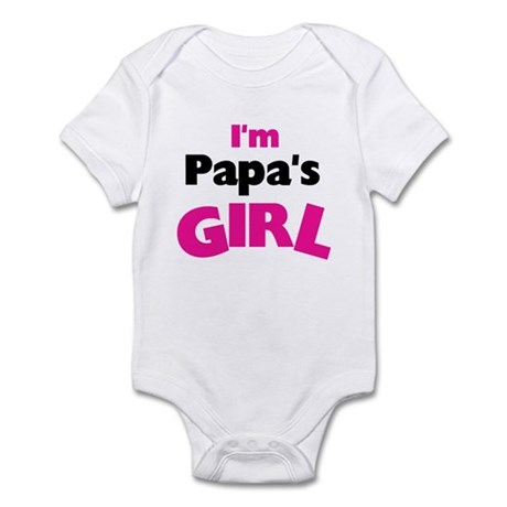 I'm Papa's Girl Infant Creeper