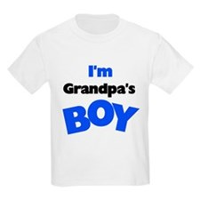 I'm Grandpa's Boy Kids T-Shirt