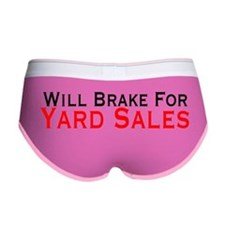 Will Brake For Yard Sales Women's Boy Brief
