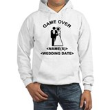 Game Over (Names and Wedding Date) Hoodie