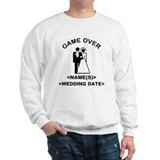 Game Over (Names and Wedding Date) Sweater