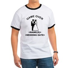 Game Over (Names and Wedding Date) T