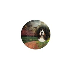 """Why God Made Dogs"" Bernese Mini Button (100 pack)"