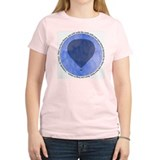 """da Vinci Quote"" Women's Pink T-Shirt"